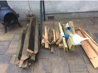 Free fire wood. Some nails present. Buyer must uplift.