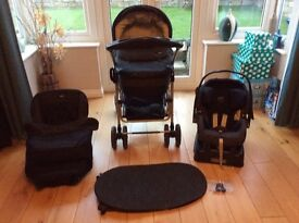 Pram Mamas and papas 3 in 1 travel system