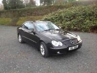 2002 (Nov) CLK240 Mercedes. Black.