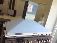 100cm stainless steel cooker hood. £60 RRP £169 new/graded 12 month Gtee