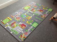 Childs mat - road map and farm