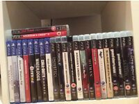 PS3 / PS4 Like New 24 Game Bundle