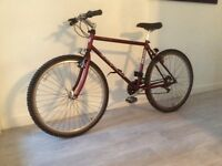 Mountain bike gents Saracen 21 speed fast ligtweight Frame Alloy rims quill and seat post