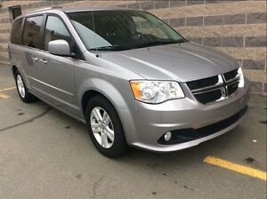 2014 Dodge Grand Caravan CREW/HTD SEATS/STOW N GO/BACK UP CAM