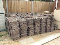 Large amount of Roof Tiles (200?)
