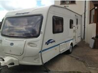 4 birth bailey ranger 510/4 2006 VGC Includes full Isabella awning, porch awning and all accesories