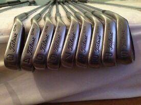 Titleist golf clubs, full set, incl drivers & putter