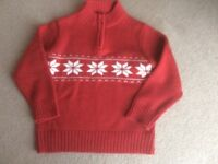 Boy's Christmas jumper, age 3-4 years