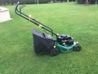 Push rotary lawnmower 16inch cut