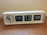 Grayson Dementia Clock, Large Day & Date, Analogue Clock