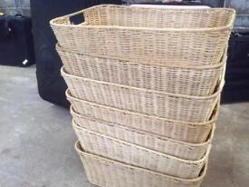 Seven Wicker Baskets