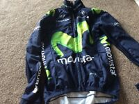 Movistar cycling jacket