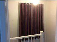 Pair of curtains and pole