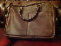 Brand new leather men's/ unisex shoulder bag