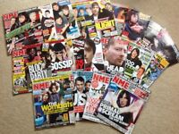 Selection of Vintage NME magazines