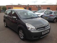 2005 Toyota Corolla Verso 7 Seater Good Runner with history and mot