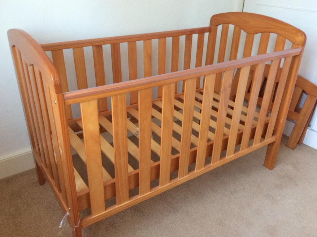 John Lewis cot bed