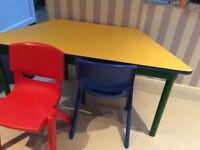 Toddler table and chairs X two styles