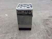 INDESIT STAINLESS STELL / SILVER 50CM GAS COOKER