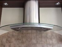 Electrolux Glass and Stainless Steel Cooker Hood/Extractor