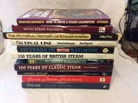 Steam train books