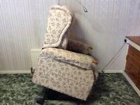 "Kensington ""Zero Gravity"" bespoke electric riser recliner chair"