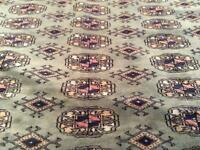 A beautiful Middle Eastern carpet