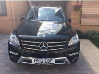Cat. D, Mercedes Benz ML 350 Bluetec, Automatic, low mileage, low price