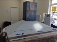 100cm stainless steel cooker hood £60. 12 month Gtee