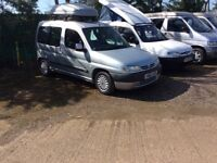 Peugeot partner Campervan/Day van