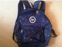 Hype Backpack Splat Design Great Condition