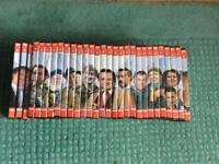 Only Fools & Horses full set x 29 DVDs & 29 magazines for each DVD in folder