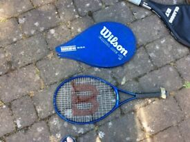 4 x Tennis racquets for sale
