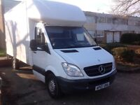 2007 mercedes sprinter Luton van with tail lift very good runner