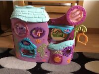 Littlest Pet Shop Tail Waggin Fitness Club and 2 ELC vehicles