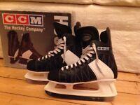 Ice Skates Size UK 7 CCM Powerline 120 Hockey Style