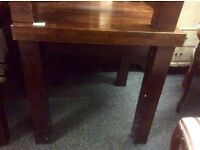 Reduced Solid wood square dining table