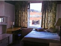Spacious double room available for August.