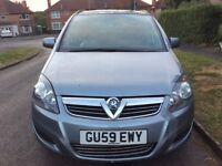 2010 Vauxhall Zafira 1.8- 7 Seater- Mot
