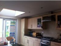 Full large kitchen with integrated fridge freezer, oven & hob, sink & worktops. Must be gone ASAP
