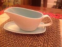 Poole pottery gravy boat