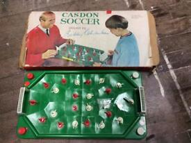 Vintage Boxed Casdon Soccer Football Game