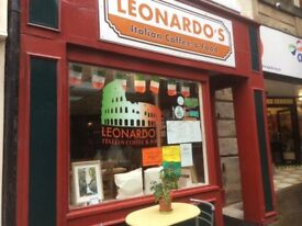 Leonardo's Italian coffee and food