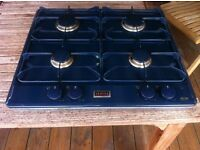 Stoves gas hobs in blue colour
