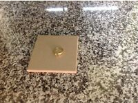 Men's 18 ct diamond gold ring