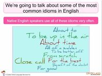 Learn English as a foreign language with a CELTA trained tutor - Special price - only £10 per hour