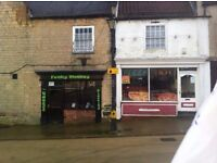 Freehold Commercial Property For Sale - 2 Shops, 3 Bedroom Flat, And Very Large Double Floor Garage