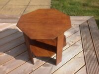 Small octagonal occasional table