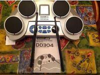 Four Pad Electronic Drum kit.