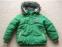 St George by Duffer Boys Green Jacket (Age 7-8)